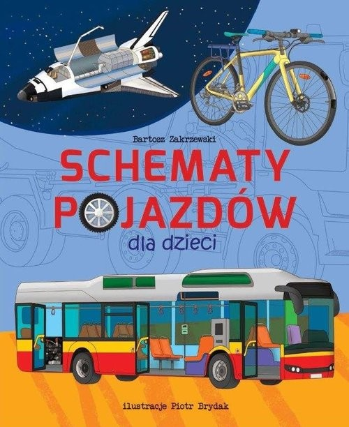 okładka Schematy pojazdów, Książka | Zakrzewski Bartosz