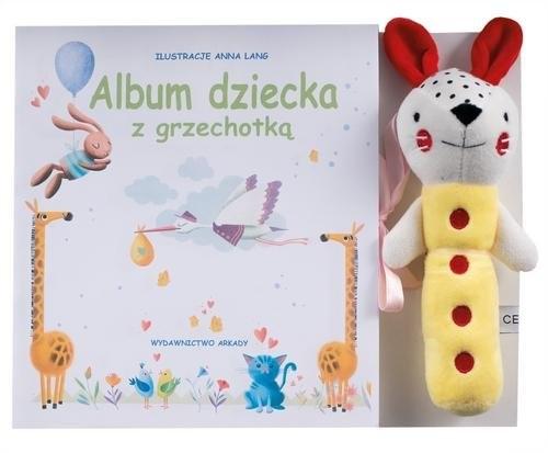 okładka Album mojego dziecka z grzechotką, Książka | Praca Zbiorowa