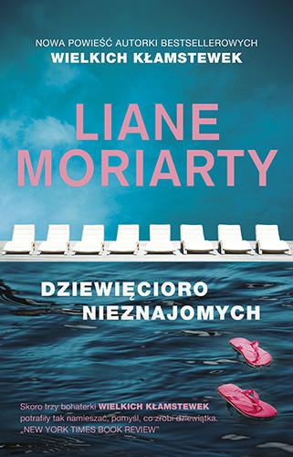 okładka Dziewięcioro nieznajomychksiążka      Liane Moriarty