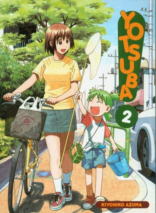 okładka Yotsuba! 2, Książka | Kiyohiko Azuma
