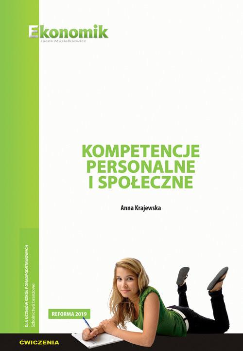 okładka Kompetencje personalne i społeczne - ćwiczenia, Książka | Krajewska Anna