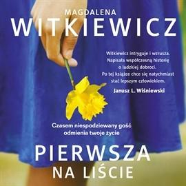 okładka Pierwsza na liście, Audiobook   Witkiewicz Magdalena