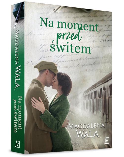okładka Na moment przed świtem, Książka | Magdalena Wala