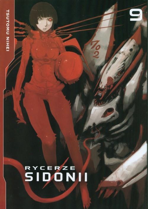 okładka Rycerze Sidonii 09, Książka   Nihei Tsutomu