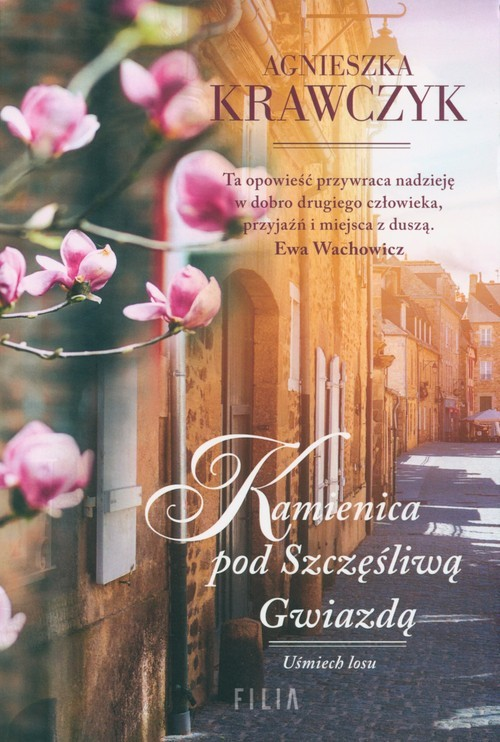 okładka Kamienica pod szczęśliwą gwiazdą Wielkie Litery, Książka | Agnieszka Krawczyk