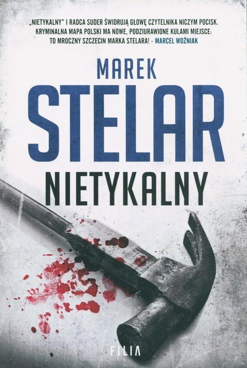 okładka Nietykalny Wielkie Litery, Książka | Marek Stelar