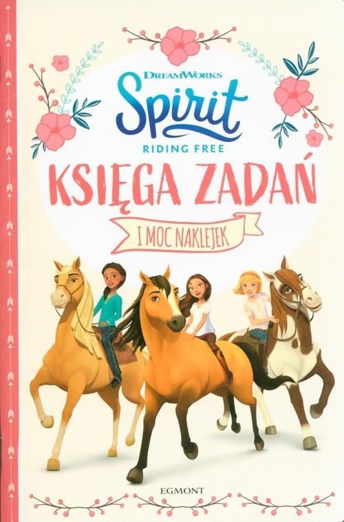 okładka Spirit Riding Free Księga zadań, Książka |