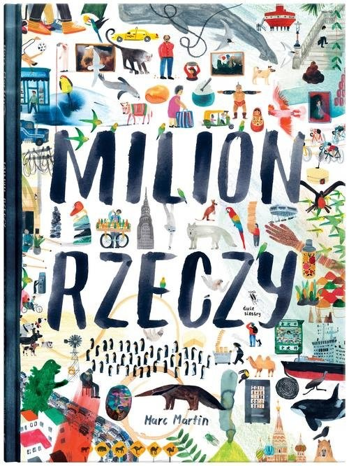 okładka Milion rzeczy, Książka | Martin Marc