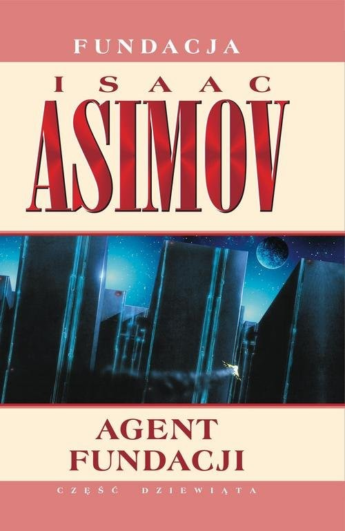 okładka Agent Fundacji, Książka | Asimov Isaac