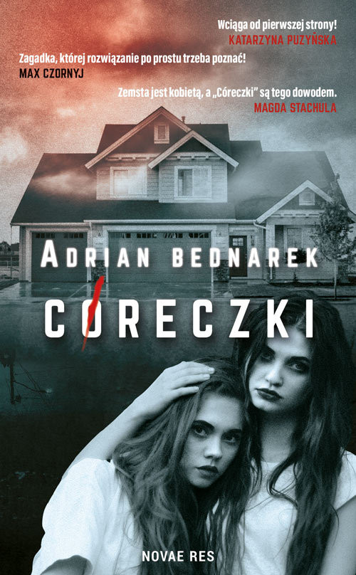 okładka Córeczki, Książka | Bednarek Adrian