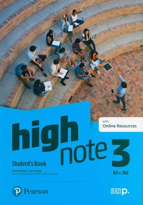okładka High Note 3 Student's Book + Online Szkoła ponadpodstawowa i ponadgimnazjalnaksiążka |  | Daniel Brayshaw, Bob Hastings
