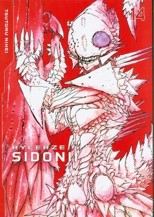 okładka Rycerze Sidonii 14, Książka   Nihei Tsutomu