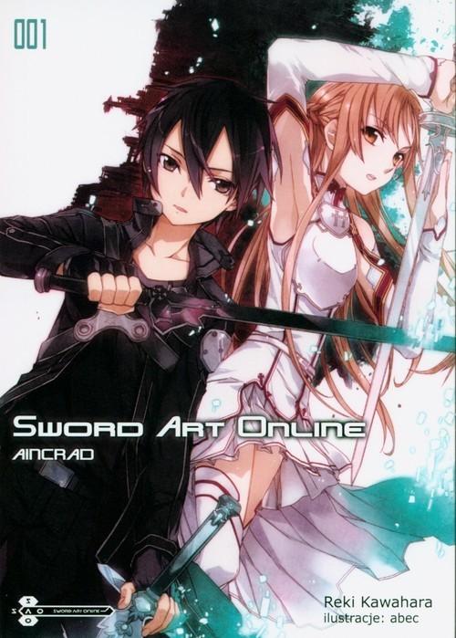 okładka Sword Art Online 1, Książka | Kawahara Reki