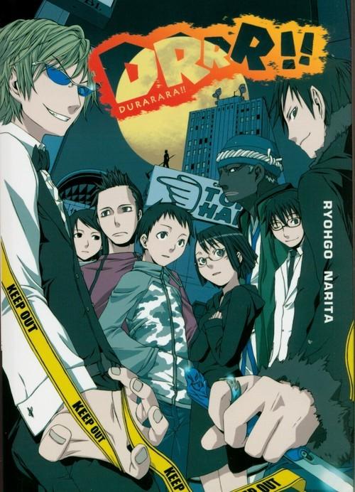 okładka Durarara!! 1, Książka | Ryohgo Narita, Suzuhito Yasuda