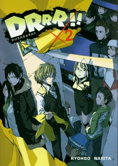 okładka Durarara!! 2, Książka | Ryohgo Narita, Suzuhito Yasuda