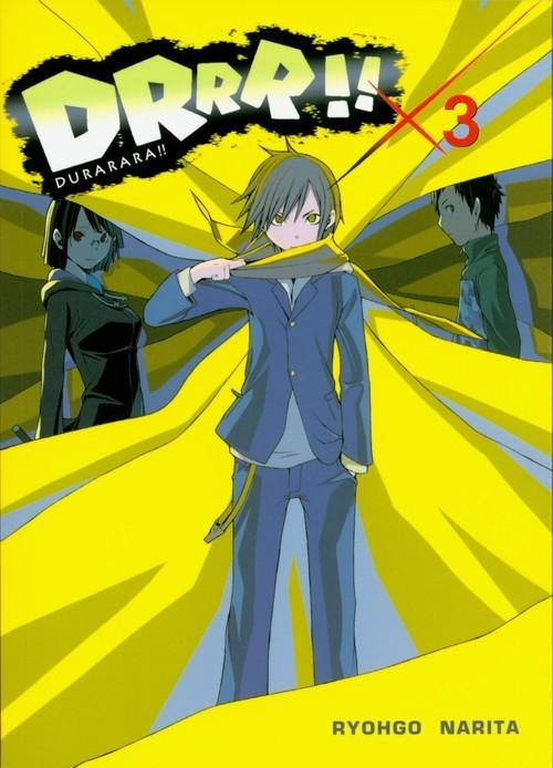 okładka Durarara!! 3książka      Ryohgo Narita, Suzuhito Yasuda