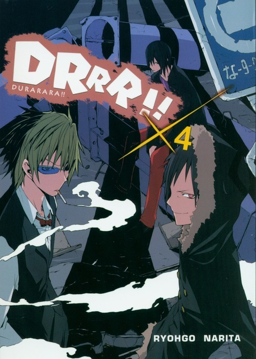 okładka Durarara!! 4, Książka | Ryohgo Narita, Suzuhito Yasuda