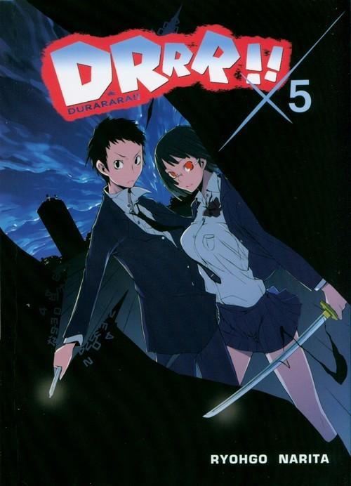 okładka Durarara!! 5, Książka | Ryohgo Narita, Suzuhito Yasuda
