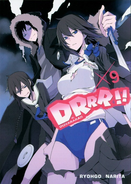 okładka Durarara!! 9, Książka | Ryohgo Narita, Suzuhito Yasuda