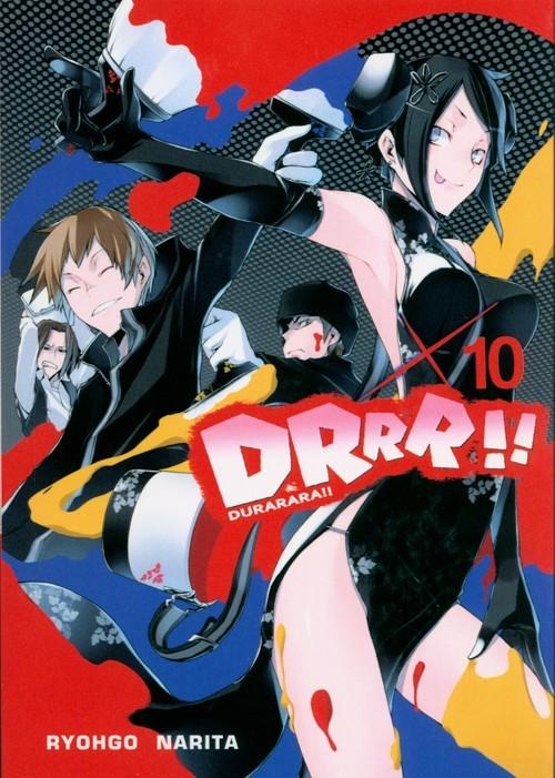 okładka Durarara!! 10, Książka | Ryohgo Narita, Suzuhito Yasuda
