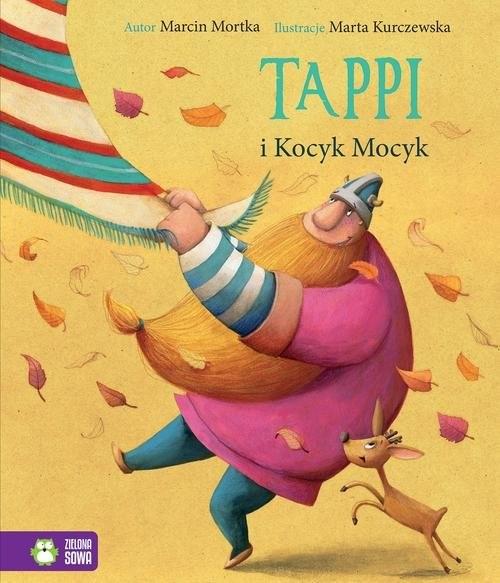 okładka Tappi i Kocyk Mocyk, Książka | Mortka Marcin