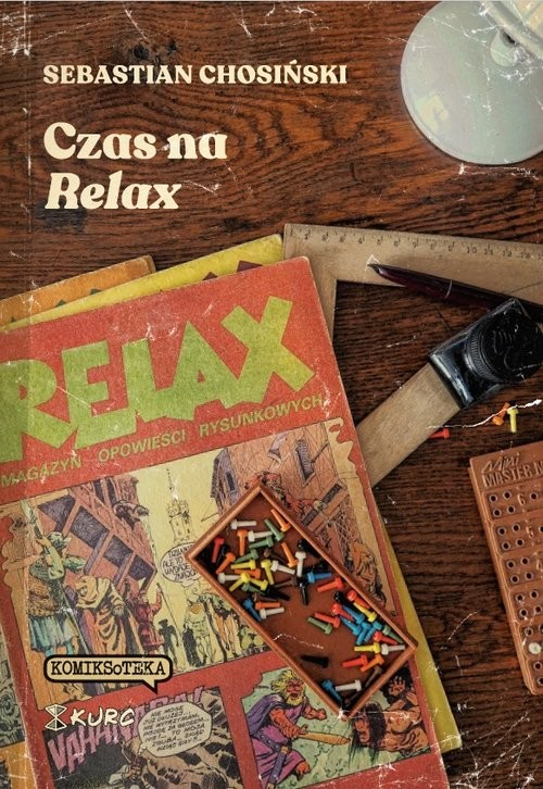 okładka Czas na Relax, Książka | Chosiński Sebastian