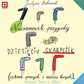 okładka Niesamowite przygody 10 skarpetek, Audiobook | Bednarek Justyna
