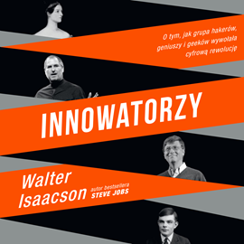 okładka Innowatorzy, Audiobook | Isaacson Walter
