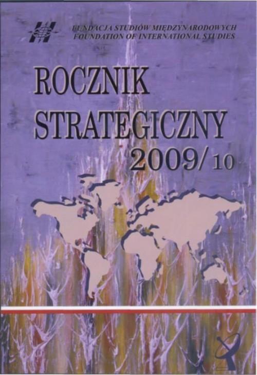 okładka Rocznik strategiczny 2009/10, Książka |