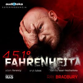 okładka 451° Fahrenheita, Audiobook | Bradbury Ray