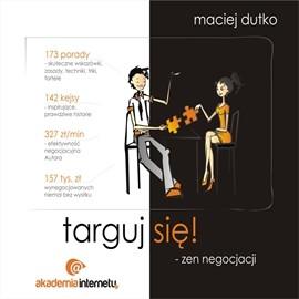 okładka Targuj się! Zen negocjacji, Audiobook | Dutko Maciej