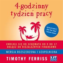okładka 4-godzinny tydzień pracy, Audiobook | Ferriss Timothy