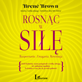 okładka Rosnąc w siłę, Audiobook | Brown Brene