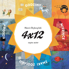 okładka 4x12, Audiobook | Brykczyński Marcin