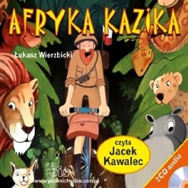 okładka Afryka Kazika, Audiobook | Wierzbicki Łukasz