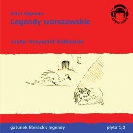 okładka Legendy warszawskie, Audiobook | Oppman Artur