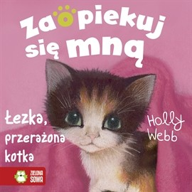 okładka Łezka, przerażona kotka, Audiobook   Webb Holly