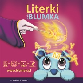 okładka Literki Misia Blumka, Audiobook | Sebastian Szczepaniak