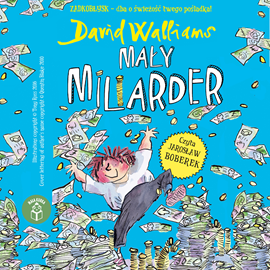 okładka Mały miliarder, Audiobook | Walliams David