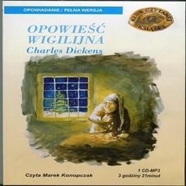 okładka Opowieść wigilijna, Audiobook | Dickens Charles