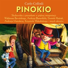 okładka Pinokioaudiobook | MP3 | Collodi Carlo