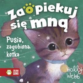okładka Pusia, zagubiona kotka, Audiobook   Webb Holly