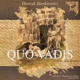 okładka Quo Vadisaudiobook | MP3 | Sienkiewicz Henryk