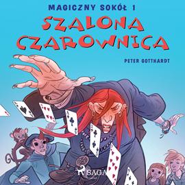 okładka Magiczny sokół 1 - Szalona Czarownica, Audiobook   Gotthardt Peter