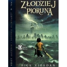okładka Złodziej piorunaaudiobook   MP3   Rick Riordan