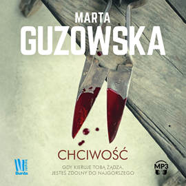 okładka Chciwość, Audiobook | Guzowska Marta