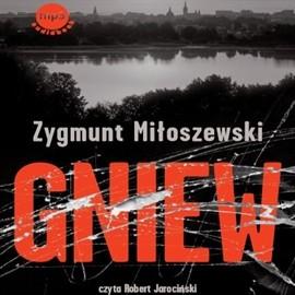 okładka Gniew, Audiobook | Miłoszewski Zygmunt