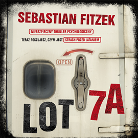 okładka Lot 7a, Audiobook | Sebastian Fitzek