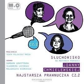okładka Najstarsza prawnuczka cz. 2, Audiobook | Chmielewska Joanna