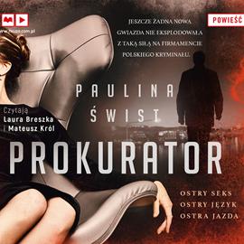 okładka Prokurator, Audiobook | Świst Paulina